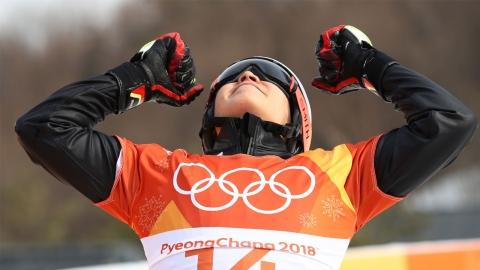 이상호 스노보드 평행대회전 은메달...한국 설상종목 새 역사 썼다