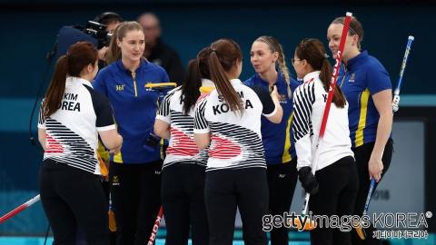 한국, 아시아팀 최초로 올림픽 컬링 은메달