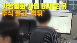 [자막뉴스] 가상통화 사업 내세운 뒤 주식 팔고 '먹튀'