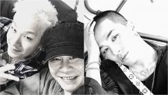 """양현석, 입대 앞둔 태양 응원 """"사랑한다 영배야"""""""