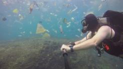 [영상] 인도네시아 발리 섬의 바닷속 실태