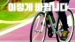 [자막뉴스] '자전거 우선도로' 이렇게 바뀝니다