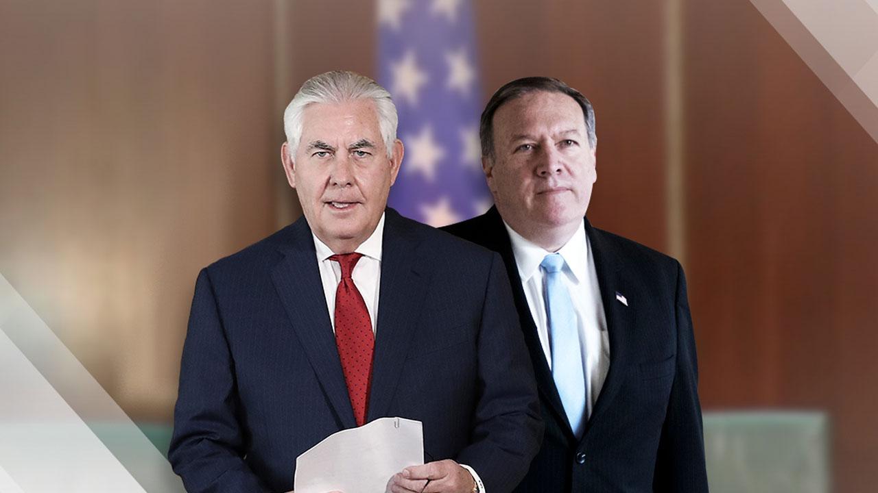 트럼프, 틸러슨 국무 전격 경질...후임에 폼페오 CIA 국장