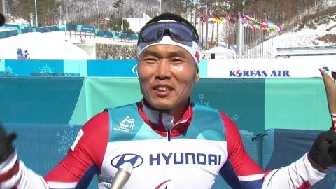 신의현, 크로스컨트리 7.5㎞ 우승...사상 첫 금메달