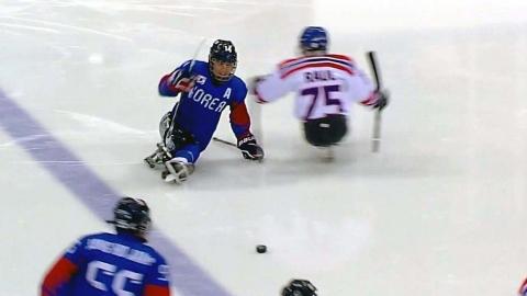 한국 썰매하키, 이탈리아 꺾고 사상 첫 동메달
