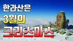 [자막뉴스] 설악산 대청봉에 눈...뒤늦은 마지막 겨울 인사