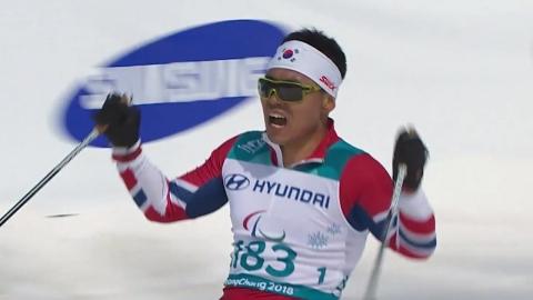 '불굴의 사나이' 신의현, 동계패럴림픽 사상 첫 금메달