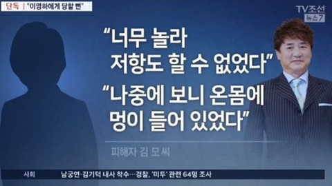 """""""이영하가 36년전 성추행""""…미코 출신 여배우 미투 폭로"""