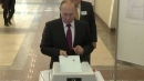 """[속보] 러시아 대선 출구조사 """"푸틴 예상 득표율 73.9%"""""""