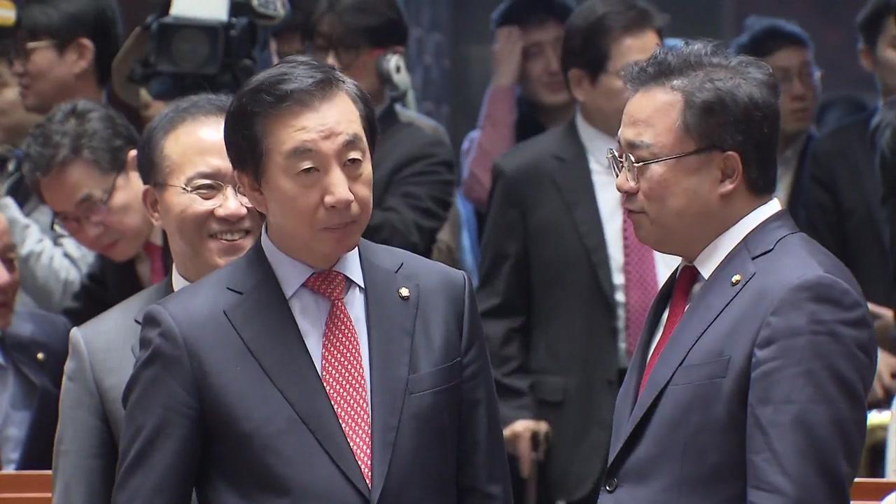 한국당, 외치 대통령·내치 총리 개헌 공개