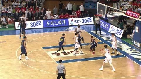 SK, KCC 꺾고 챔피언결정전 진출...DB와 챔프전 격돌