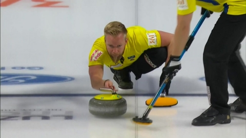 스웨덴, 세계선수권 우승...한국 남자컬링 4위