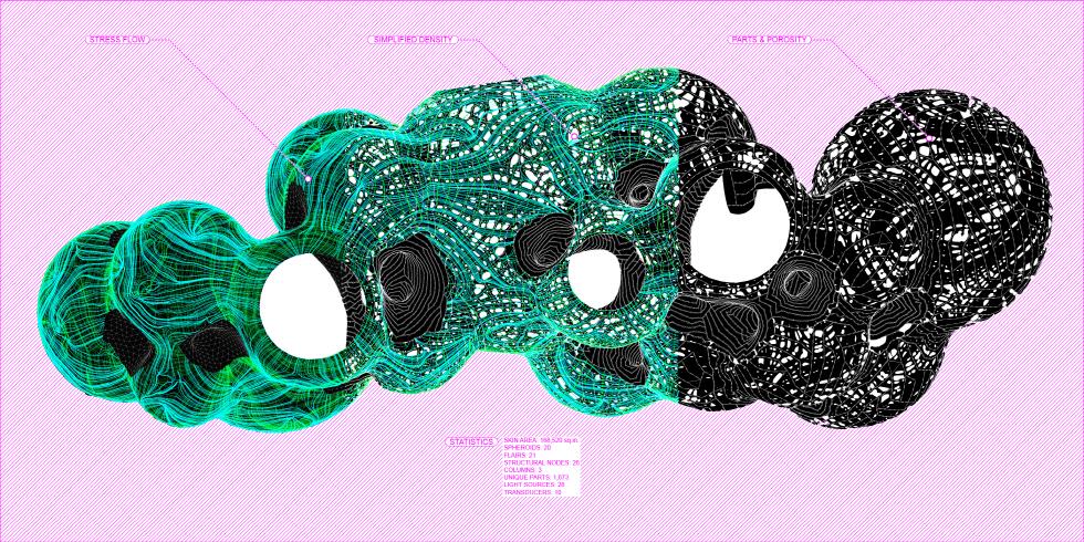 〔안정원의 디자인 칼럼〕 20개 외피구조 구들이 펼치는 신비로운 교감