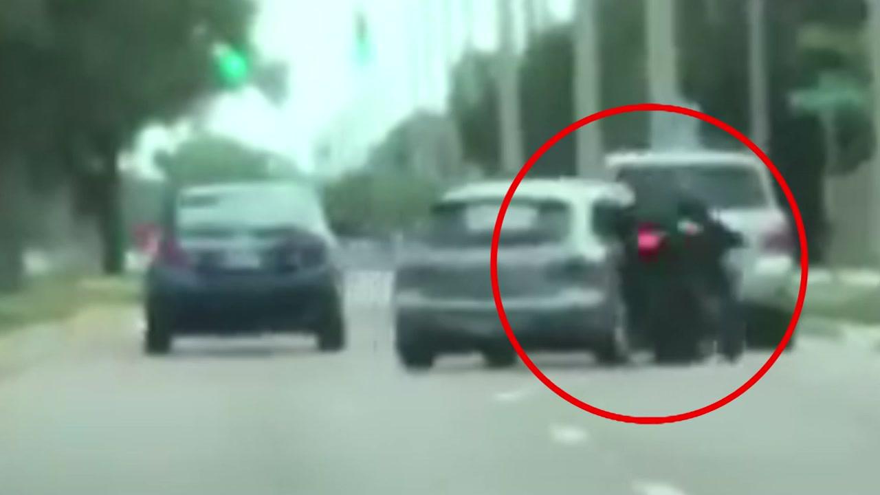 [영상] '살인미수급' 충격적인 보복운전 현장 공개