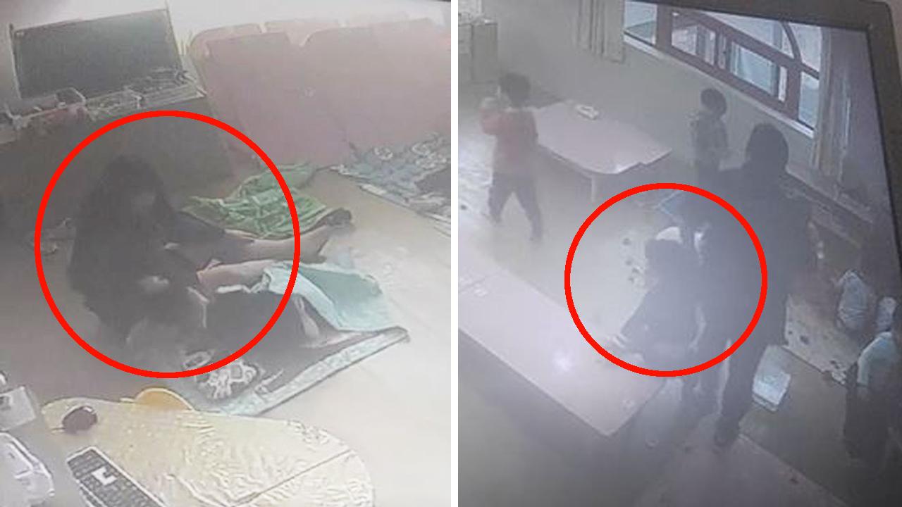 어린이집서 교사가 5살 아이 폭행...머리채 끌고 패대기