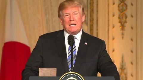 """트럼프 """"좋은 일들 일어날 것""""…북미회담 자신감"""