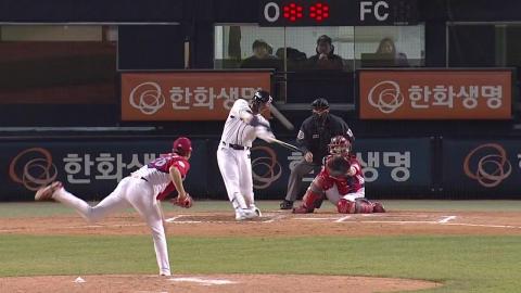 '선발 9명 전원 좌타자' 두산, KIA 꺾고 4연승
