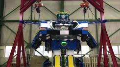 상상이 현실로...1분 만에 변신한 '트랜스포머' 로봇