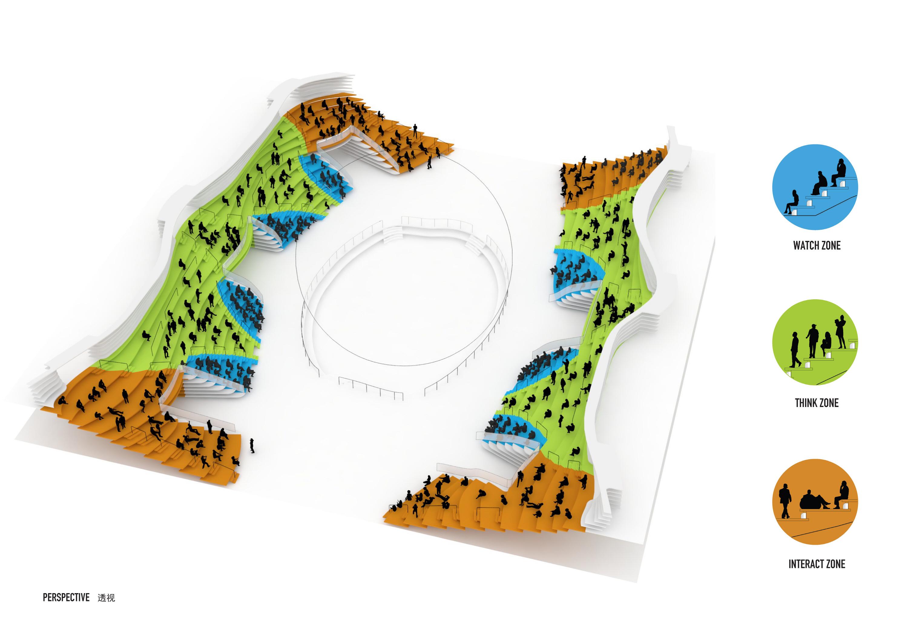 〔안정원의 건축 칼럼〕 계단 지형을 닮은 캐스케이드형 아트리움의 이색적인 도서관 건축 2