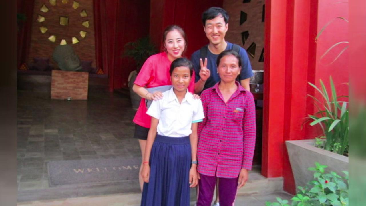 [좋은뉴스] 신혼여행 대신 캄보디아 봉사 택한 부부