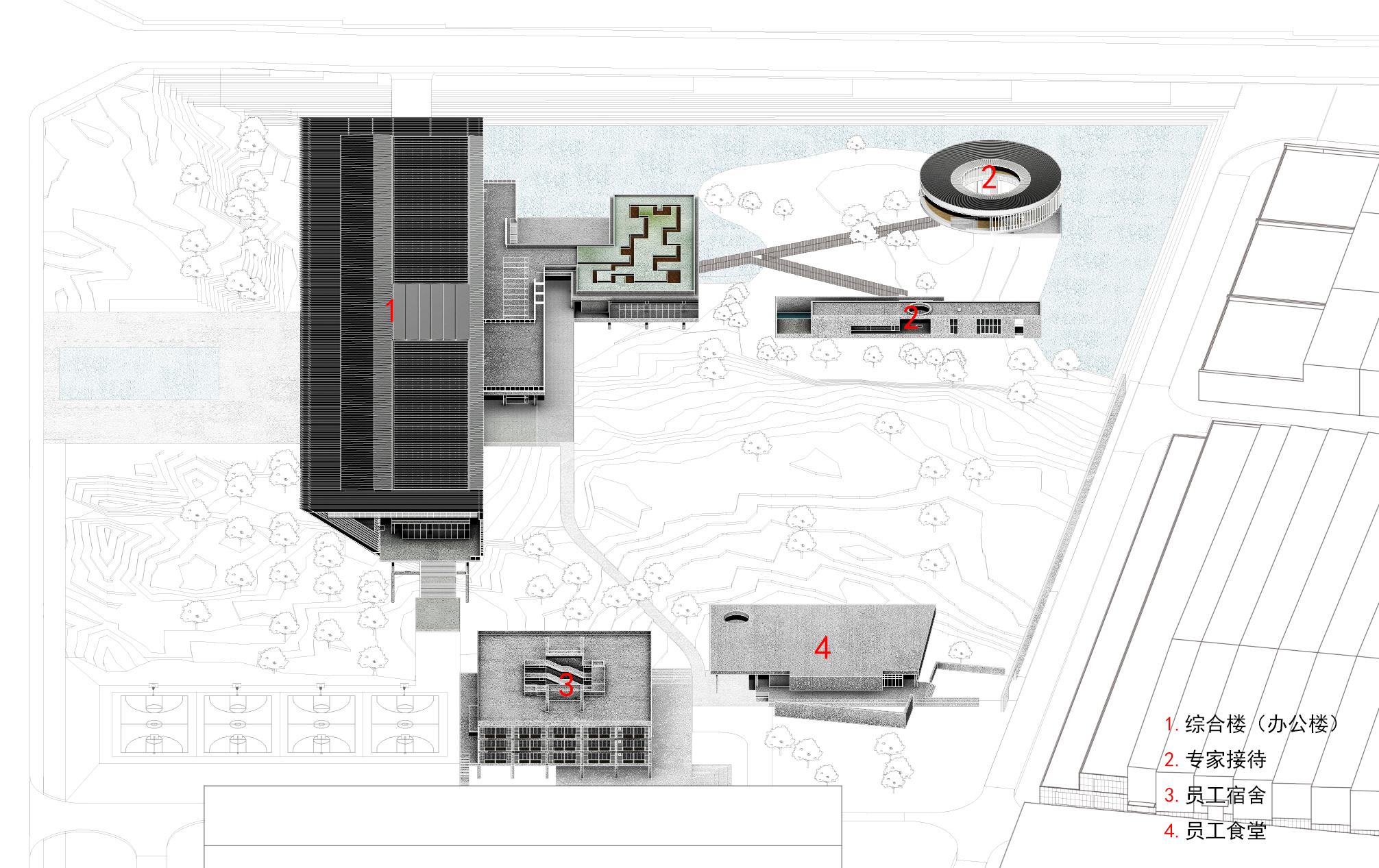 〔안정원의 디자인 칼럼〕 청두 항공우주 초합금 기술 캠퍼스의 효율적인 건축 프로그램 3