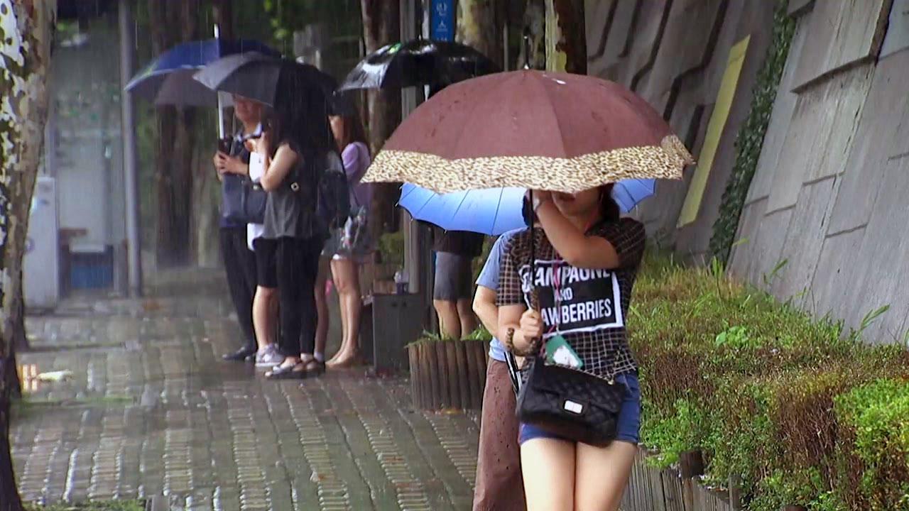 [날씨] 서울 첫 호우주의보...중부 벼락 동반 폭우