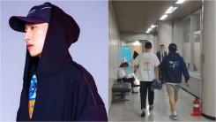 블랙넛, 앨범 홍보 셔츠 입고 법원 출석…입장 변화 無(종합)