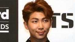 방탄소년단 RM, 리더는 생각하고 고민한다