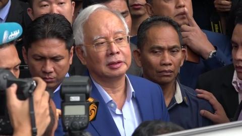 말레이시아 반부패위, 나집 전 총리 소환 조사