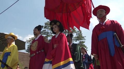 """""""세종대왕도 찾은 물"""" 청주 초정약수 축제"""