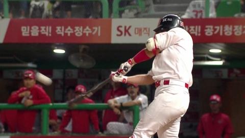 최정·로맥, 한 집안 홈런왕 경쟁 점입가경