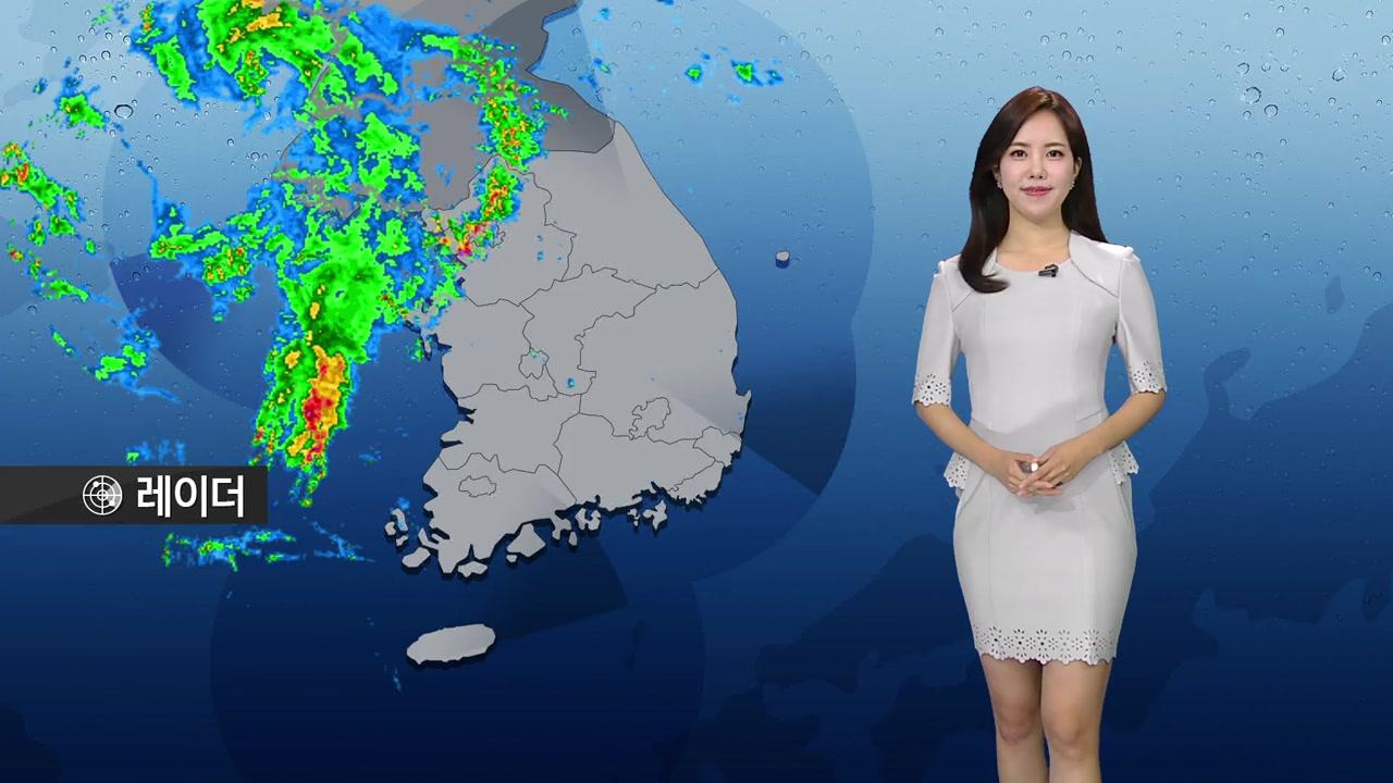 [날씨] 오후까지 중서부 비...천둥·번개, 남부 맑고 더워