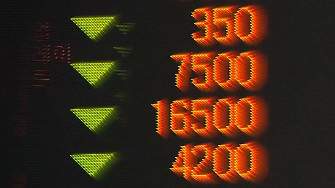 """정부 """"자본유출 제한적일 것""""...주식시장은 급락"""