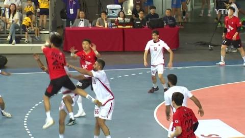 한국, 핸드볼 프리미어6 첫 경기 바레인 완파