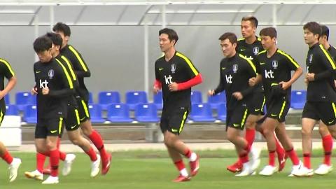대표팀, 니즈니 입성...오늘 최종 훈련