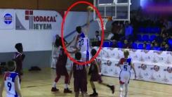 초등생 맞아?...키 '2m 13cm' 12살 농구선수
