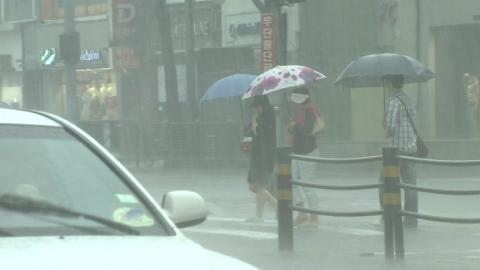 [날씨] 오늘 제주도 장마 시작…내륙은 다음 주부터