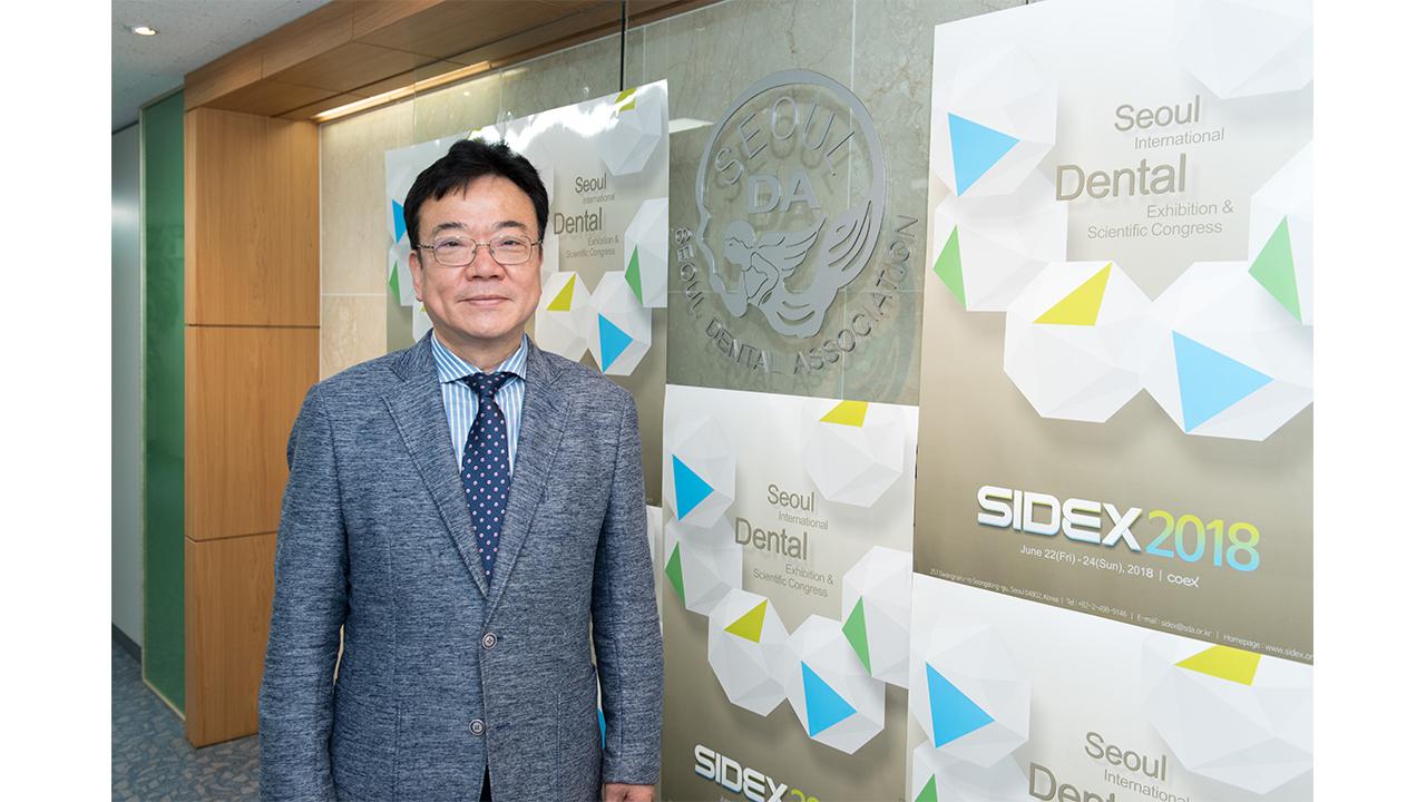 """[헬스플러스라이프]""""치의학-치과산업 동반성장 이루는 발판으로"""" 최대영 SIDEX 조직위원장"""
