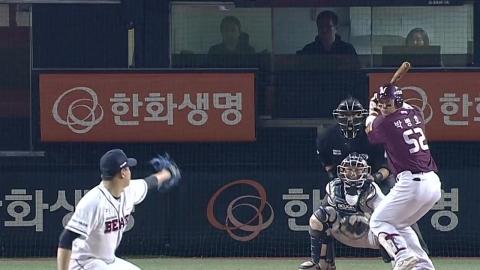번즈 6경기 연속 홈런...롯데 5연승