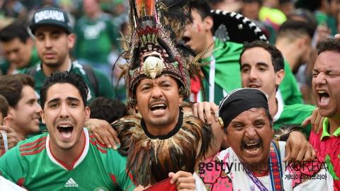'광적인 응원단' 멕시코가 두려운 또 다른 이유