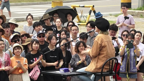DMZ에서 평화를 노래하다…피스트레인 페스티벌