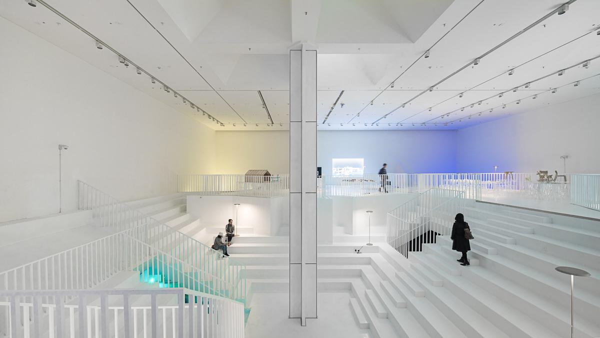 〔안정원의 건축 칼럼〕 2개 층에 걸쳐 상호 연관성과 시너지 효과를 창출하는 뮤지엄 공간2