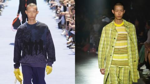 YG 케이플러스 모델들, 2019 S/S 파리 멘즈 컬렉션 휩쓸어!