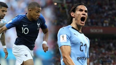'창 vs 방패' 프랑스-우루과이 8강 승자는?