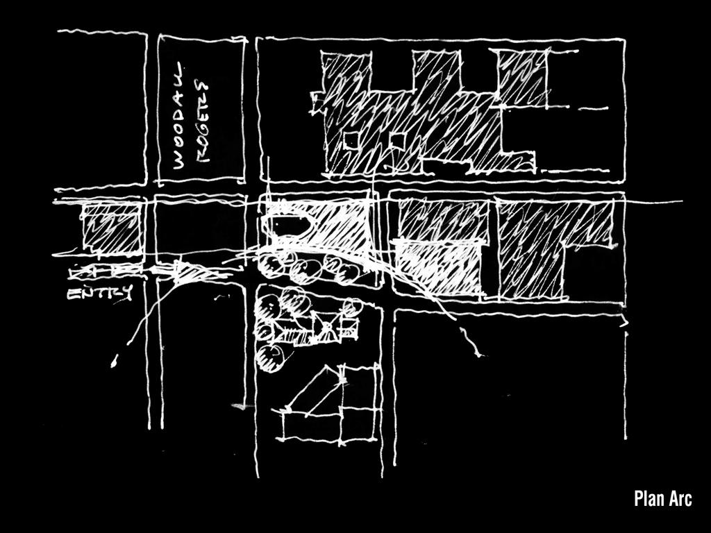 〔안정원의 건축 칼럼〕 곡선형 유리 실린더의 역동성을 담은 오피스 공간 1