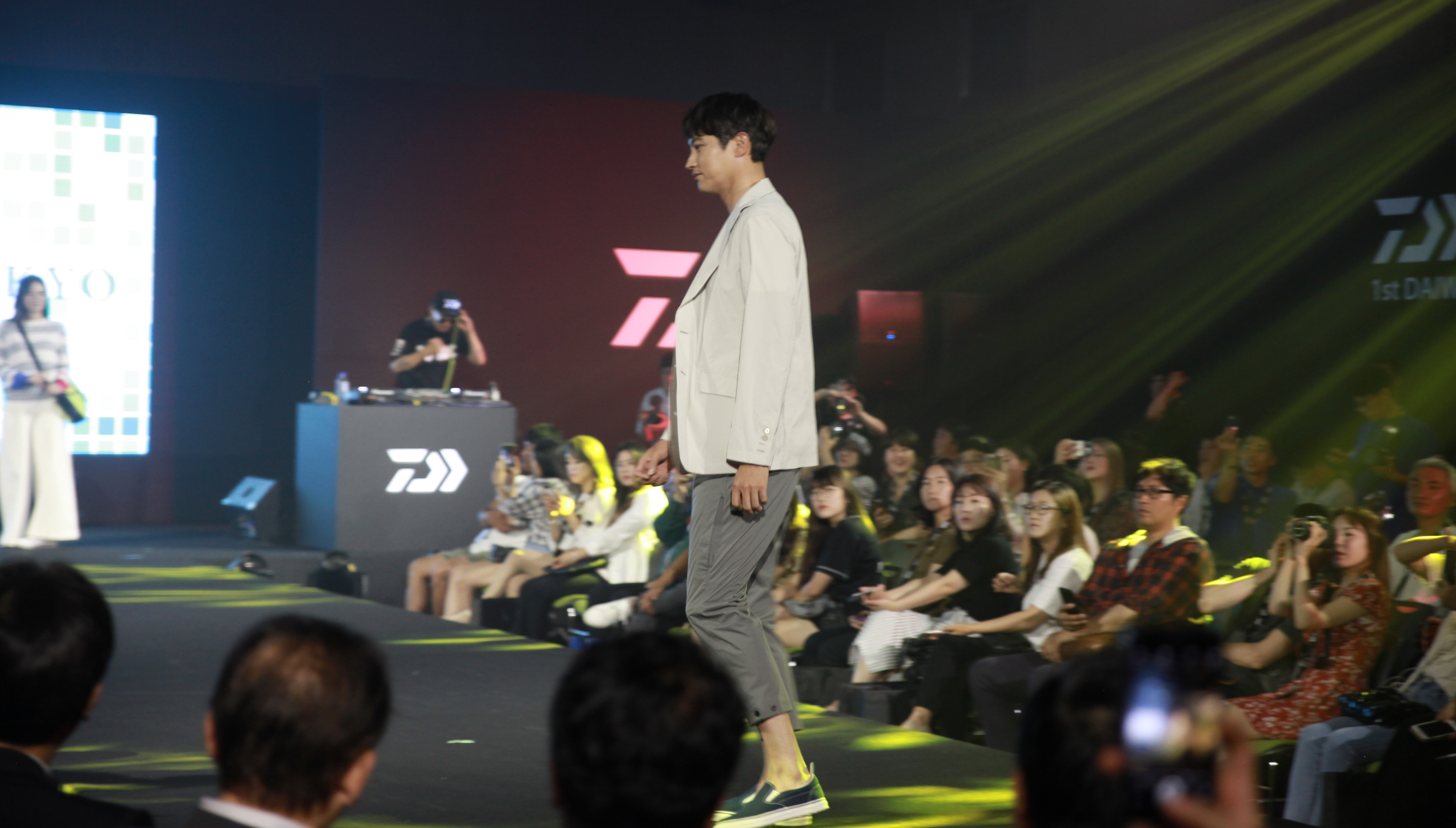 [현장포토] '제1회 다이와 패션쇼 2018'서 메인 모델로 나선 배우 겸 모델 송종호