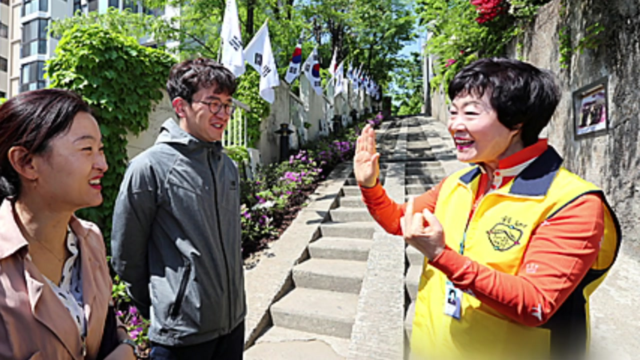 """[좋은뉴스] """"관광지 재미난 이야기 수화로 들려드려요"""""""