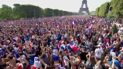 '아트 사커' 프랑스, 월드컵 20년 만에 우승