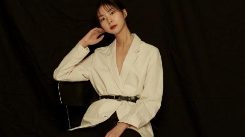 모델 김예림, 모노톤의 시크한 분위기로 시선 집중
