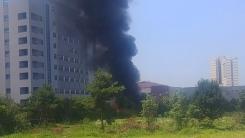 공주대 천안캠퍼스 인근 조립식 건물에서 불